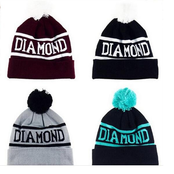 100% Acrylic Knitted Beanie Hat Cap