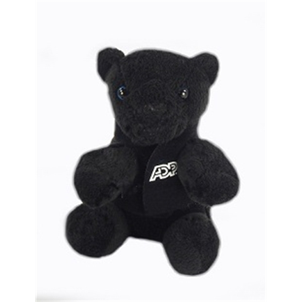 """6"""" Lil' Panther with vest and one color imprint"""