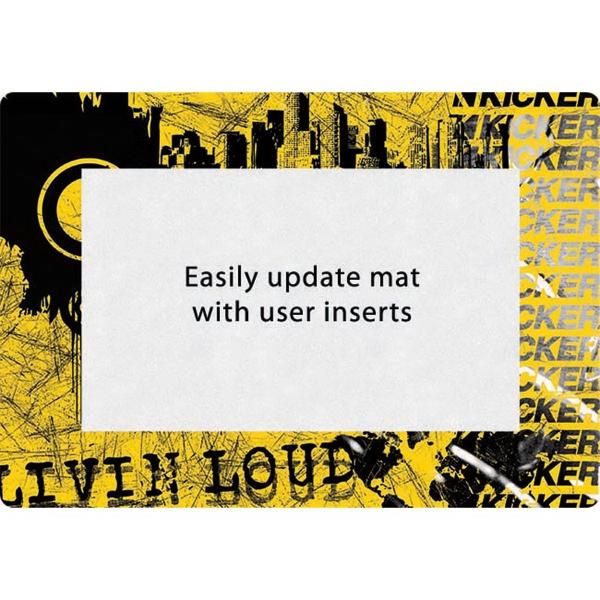 """Super Duty Window Counter Mat-14""""x19""""x1/16"""""""