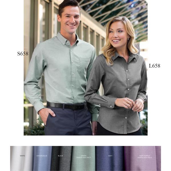 Port Authority® Ladies' Superpro™ Oxford Shirt