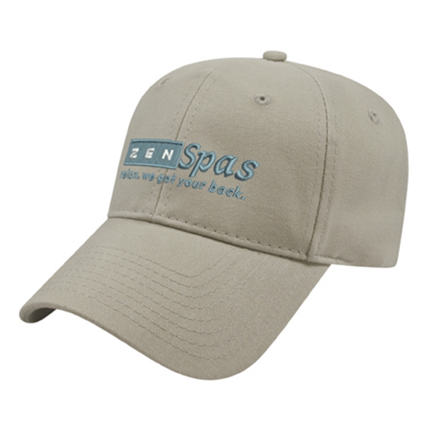 Structured Brushed Twill Cap
