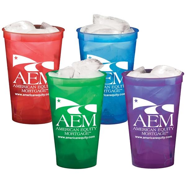 22 oz. Stadium Cups - Translucent Colors