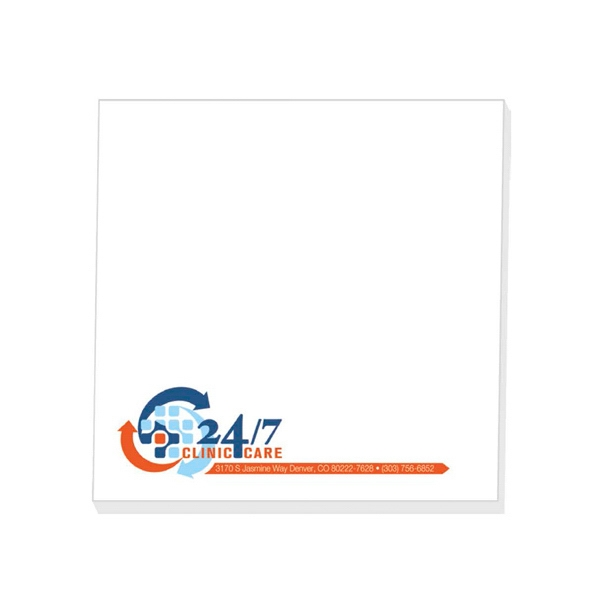 "Eco Friendly 4"" x 4"" Adhesive Notepad"
