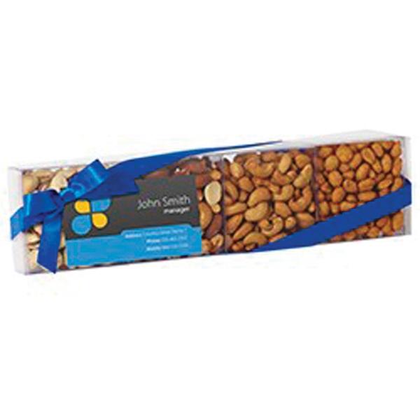 Nut Sensation with Pistachios, Peanuts, Mixed Nuts & Cashews