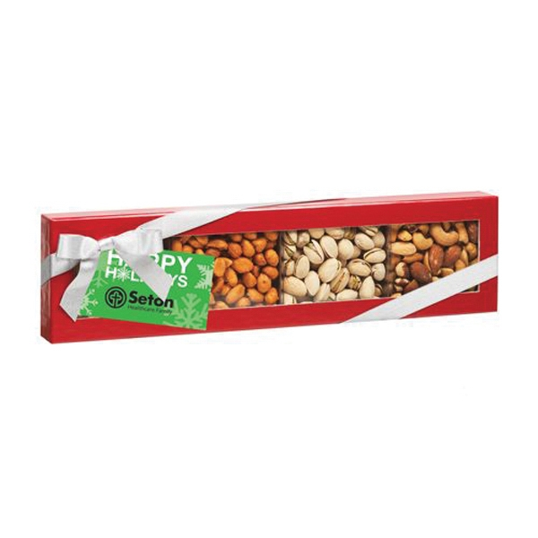 4 Way Elegant Nutty Creation Gift Box (Large)