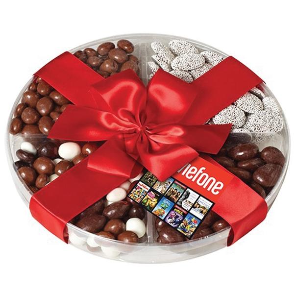 Chocolate Sampler - Four way chocolate sampler.