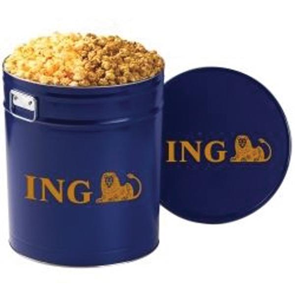 2 Way Popcorn Tin / 6.5 Gallon