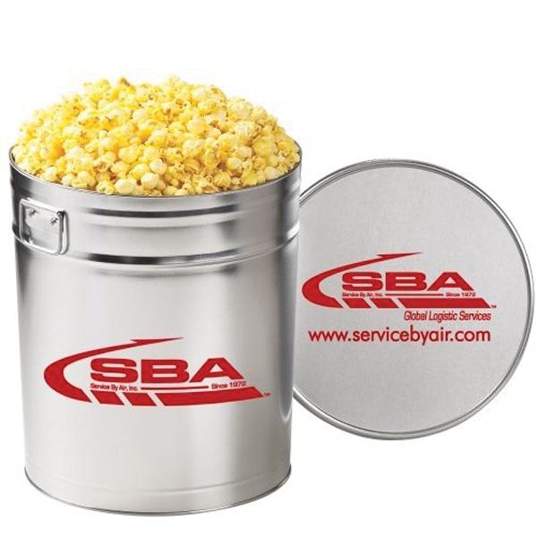 Classic Popcorn Tin / 6.5 Gallon