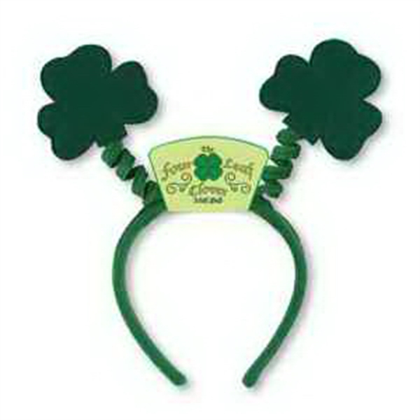 Shamrock Boppers with Custom Printed Icon