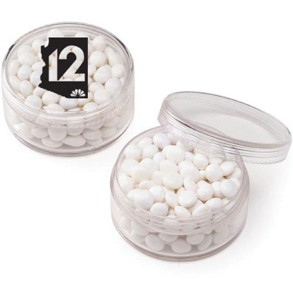 Round Container / White Mints