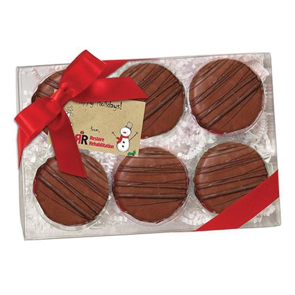 Elegant Chocolate Covered Oreo® Gift Box / 6 Pack