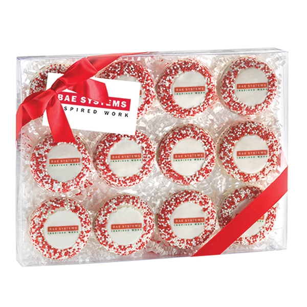 Elegant Chocolate Covered Oreo® Gift Box with Cookies