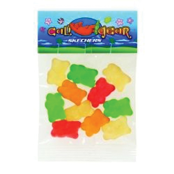 1 oz Gummy Bears (Choose Your Colors) / Header Bag