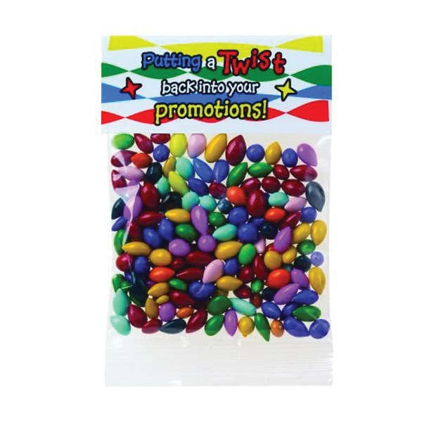 1 oz Chocolate Covered Sunflower Seed / Header Bag