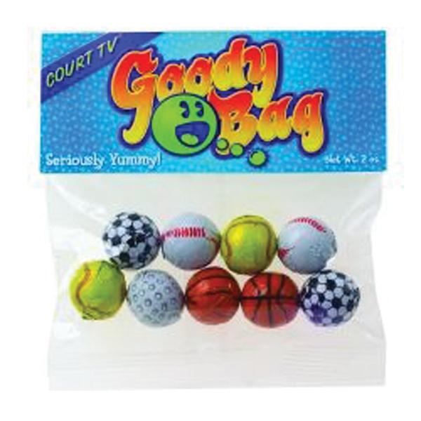 2 oz Chocolate Balls / Header Bag