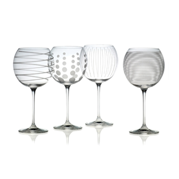 Cheers Balloon Goblets 24.5 oz. - Set of 4