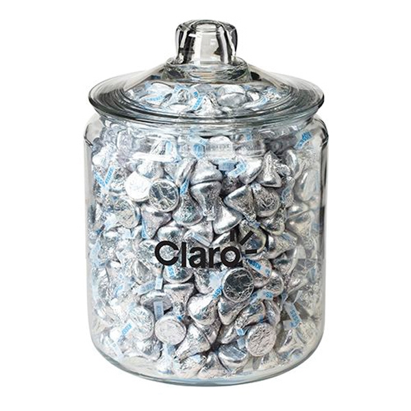 64 oz Half Gallon Glass Jar