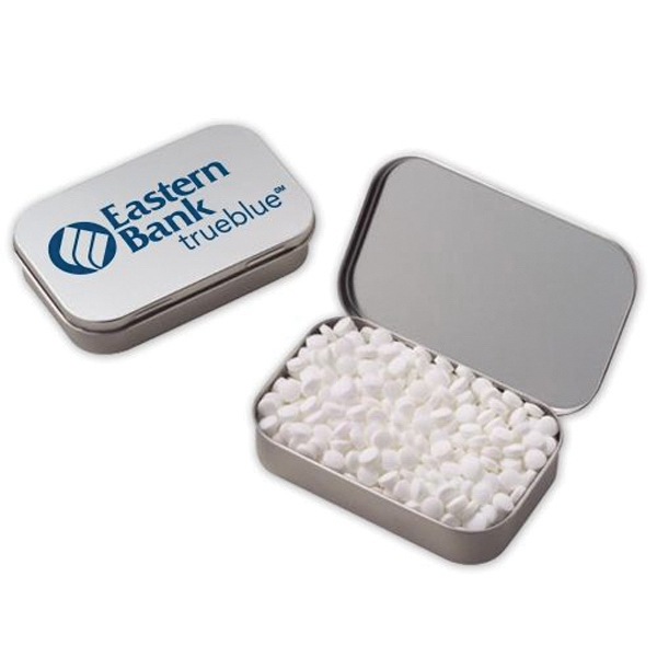 Large Hinged Tin with Mini Mints
