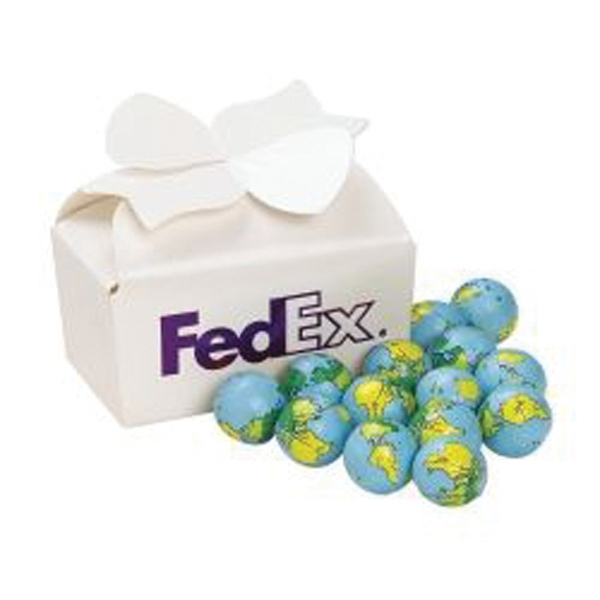 Large Bow Gift Box / Chocolate Earth Balls