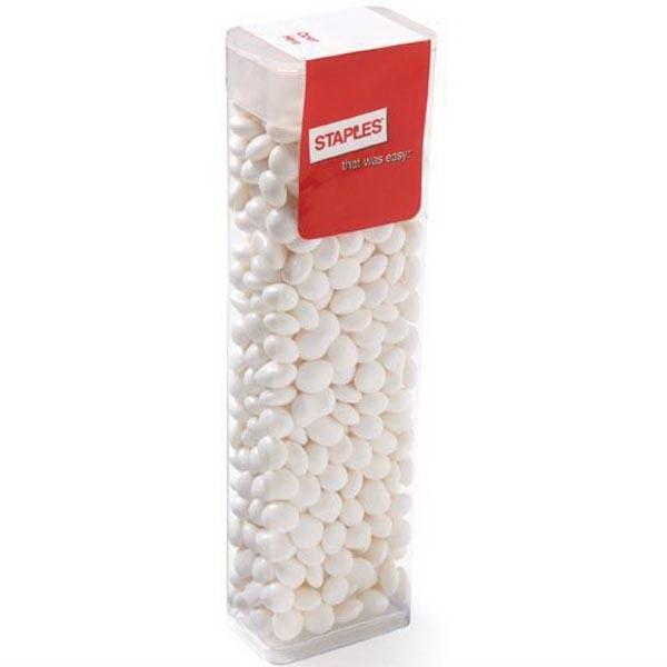 Large Flip Top Candy Dispenser / White Mints
