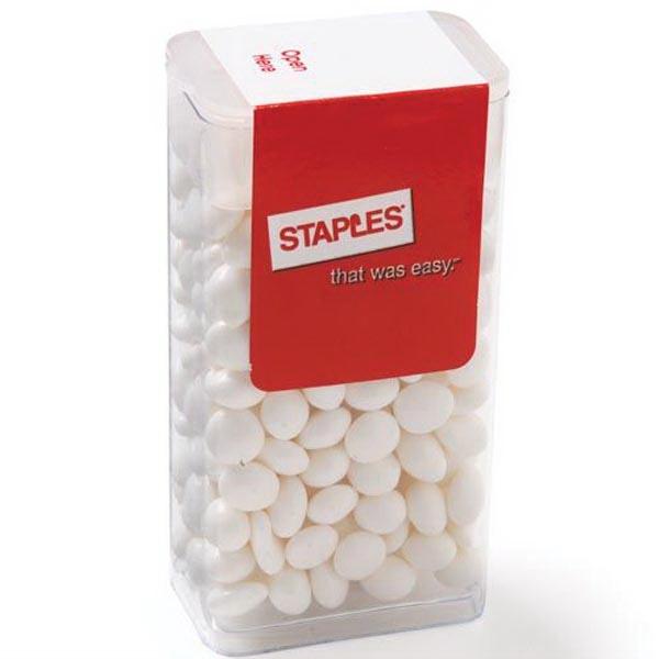 Flip Top Candy Dispenser / White Mints