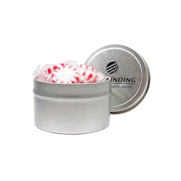 1/8 Quart Round Tin / Starlight Mints