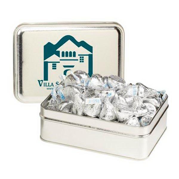Small Rectangular Tin / Hershey's Kisses®