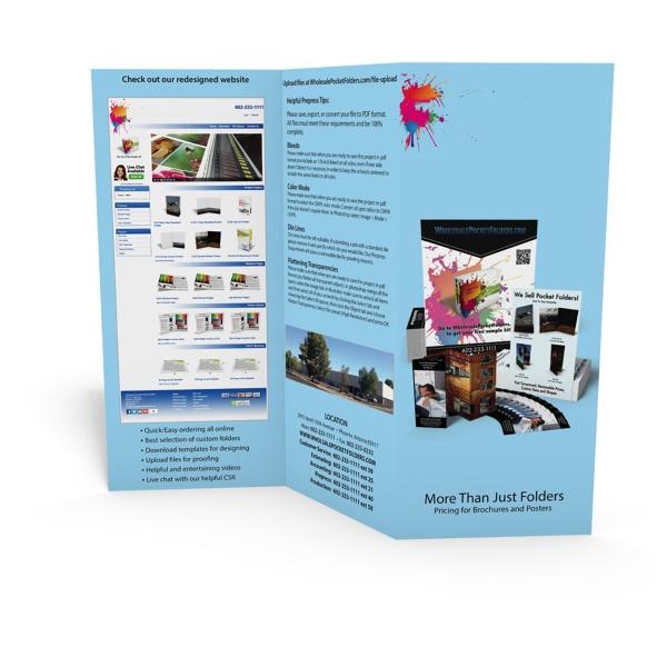 Tri-Fold Brochure 8.5x11