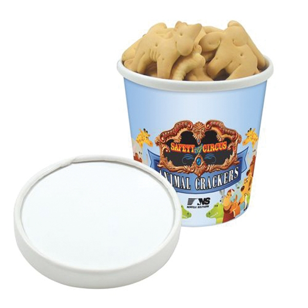 Pint Size Snack Tub / Animal Crackers