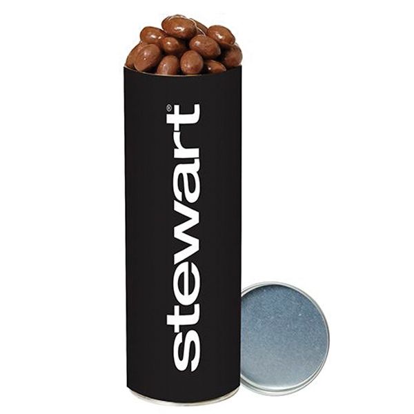 Chocolate Covered Almonds  in Large Snack Tube