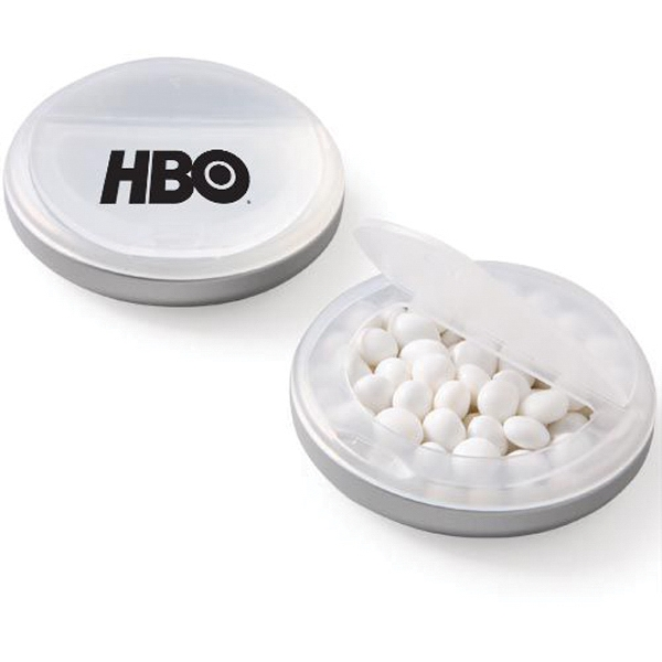 Snap Top Candy Case / White Mints