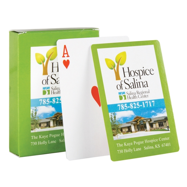 Playing Cards BRIDGE Size (Standard Stock)