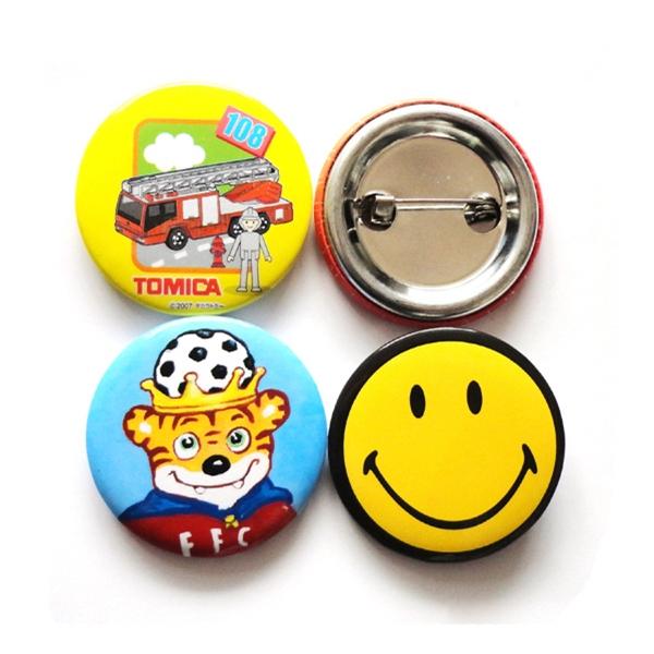 Round Celluloid Button