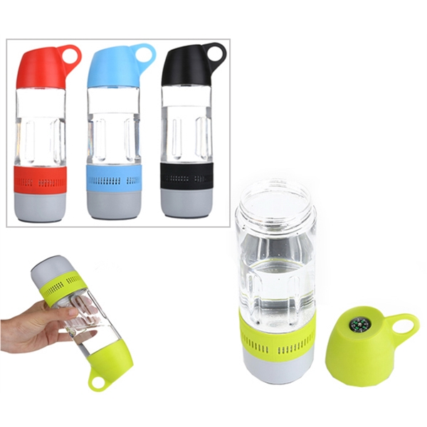 2 in 1 Sports Bottle Bluetooth Speaker