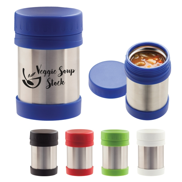 12 oz. Stainless Steel Food Container
