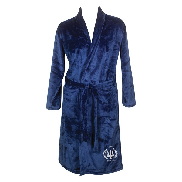 Blank Mink Touch Luxury Robe