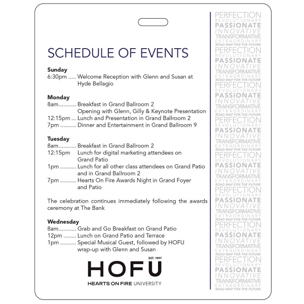 USA Made Full Color Event Badge 4