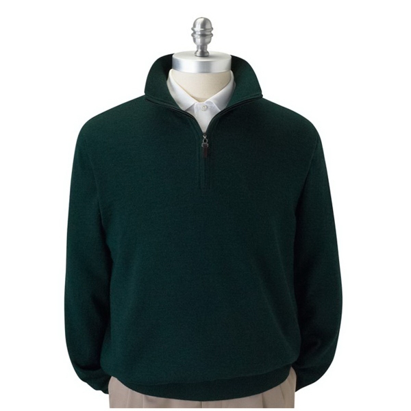 Fairway & Greene Men's Merino 1/4 Zip Windsweater