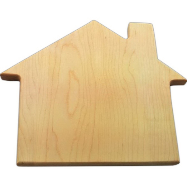 House Cutting Board solid rock maple