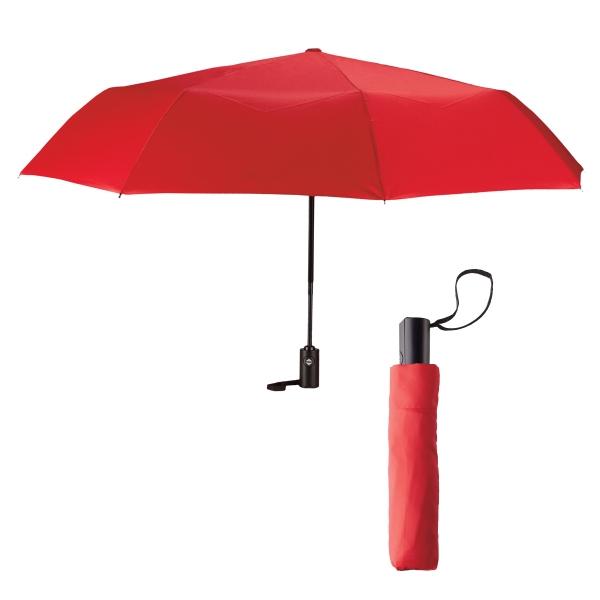 "42"" Arc Auto Open and Close Folding Umbrella"