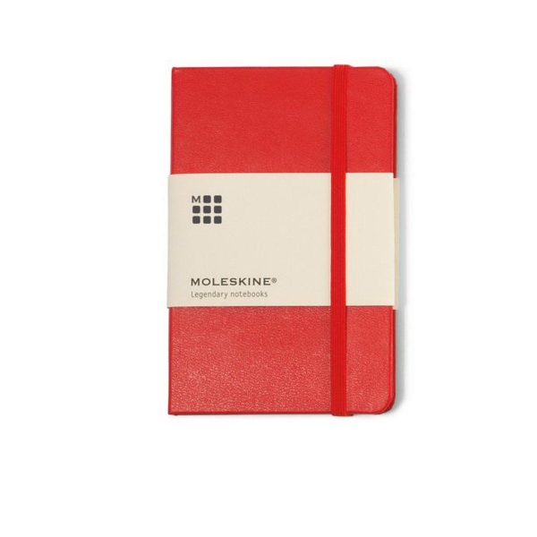 Moleskine (R) Hard Cover Ruled Pocket Notebook