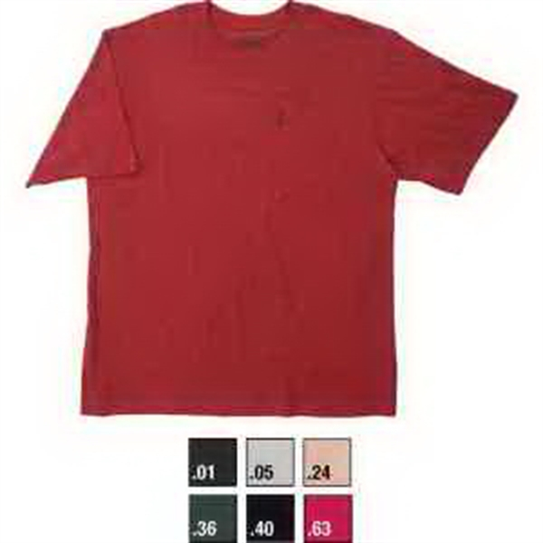 Short Sleeve Heavyweight Pocket T-Shirt