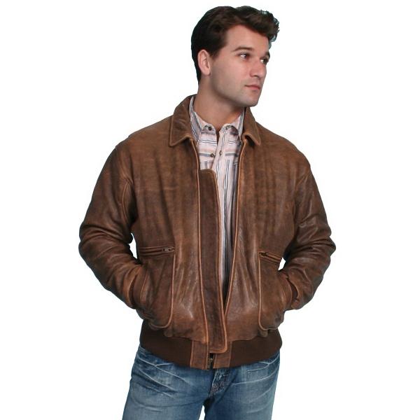 Authentic Lambskin Leather Bomber Jacket
