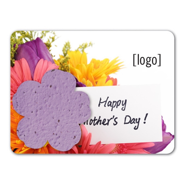 Mother's Day Mini Seed Paper Gift Pack: 4 Designs Available