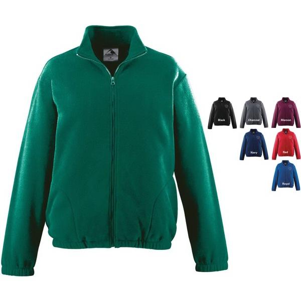Augusta Youth Chill Fleece Full-Zip Jacket