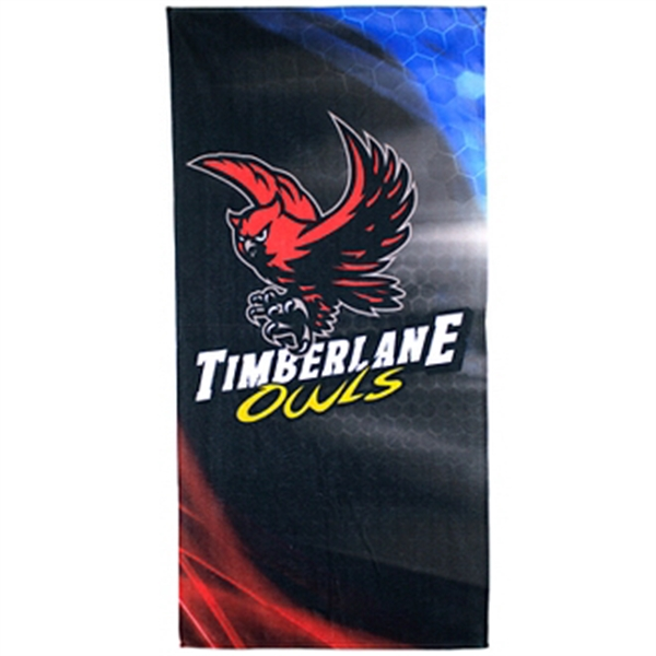 28 x 58 Full Color Beach Towel