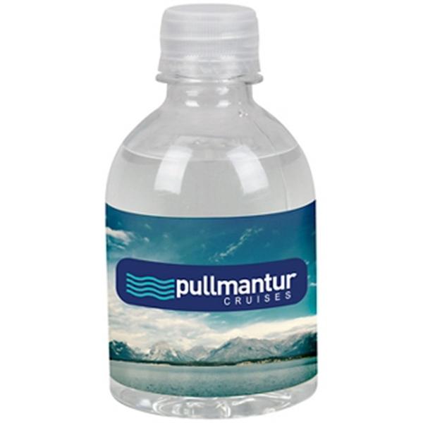 8oz Water Bottle Standard Label