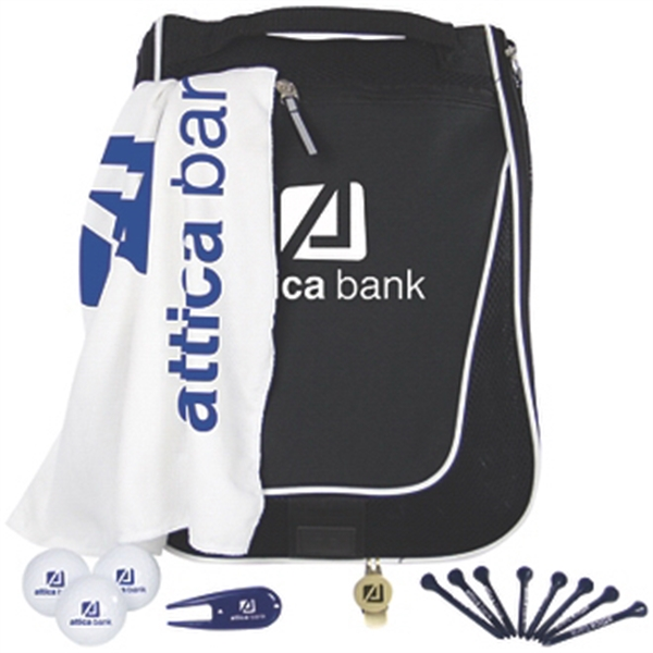 Voyager Shoe Bag Kit w/ Pinnacle Rush Golf Balls