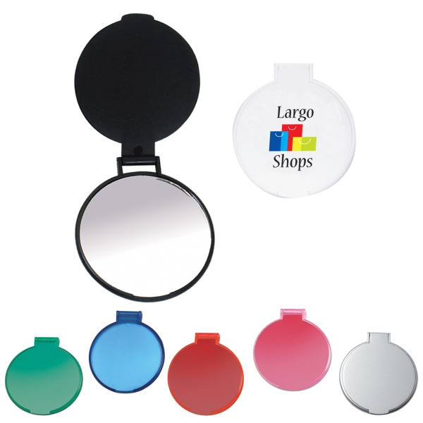 Round Compact Mirror - Compacts