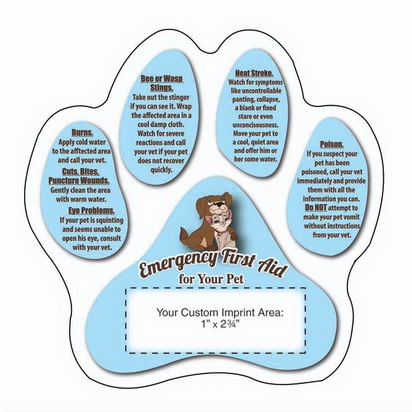 Pet Emergency First Aid Magnet